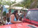 Petra beim notieren der Kinder,die mit unserer Hilfe nächstes Jahr zur Schule gehen.