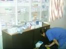 Sondieren der Medikamente